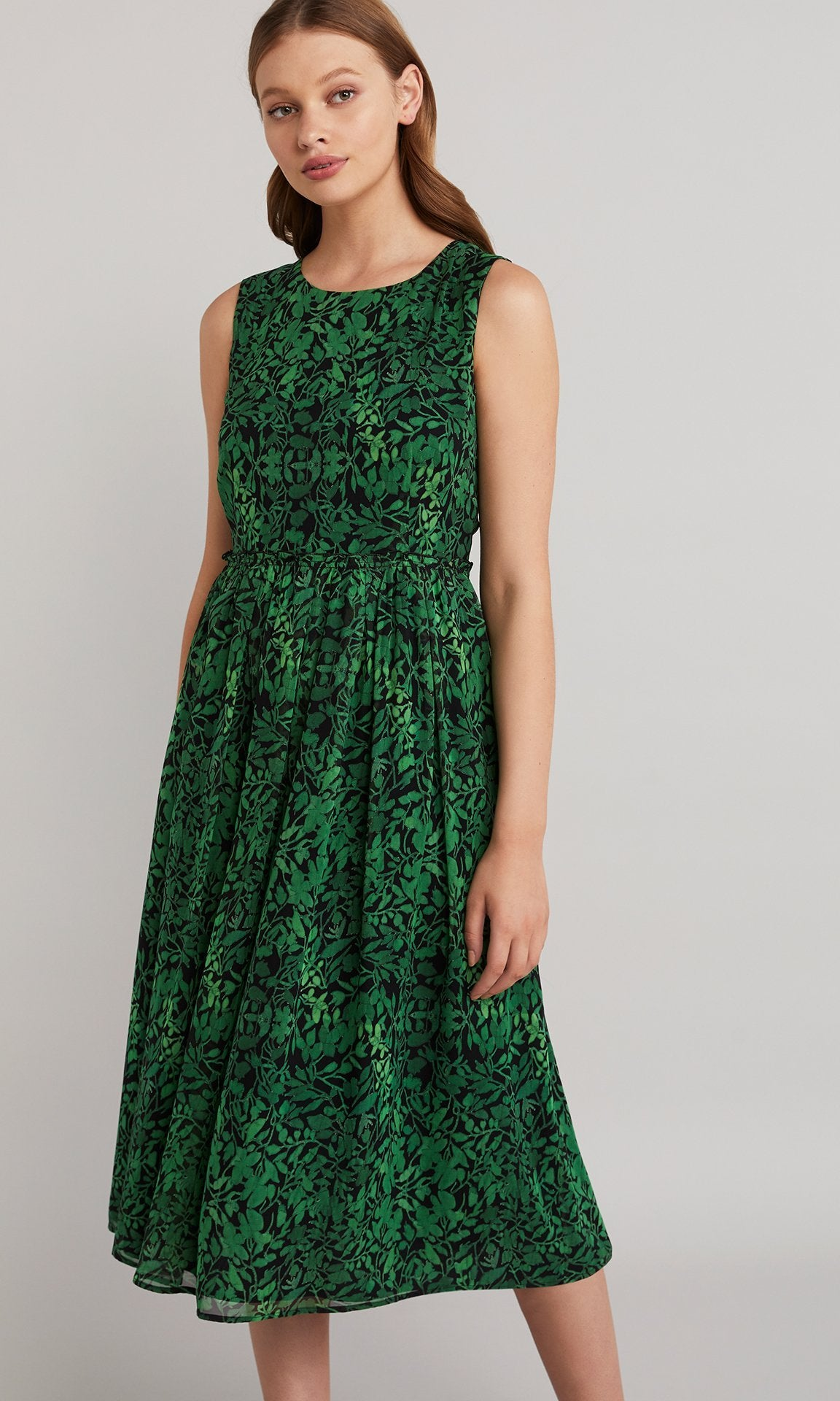 Holly Dress - Emerald