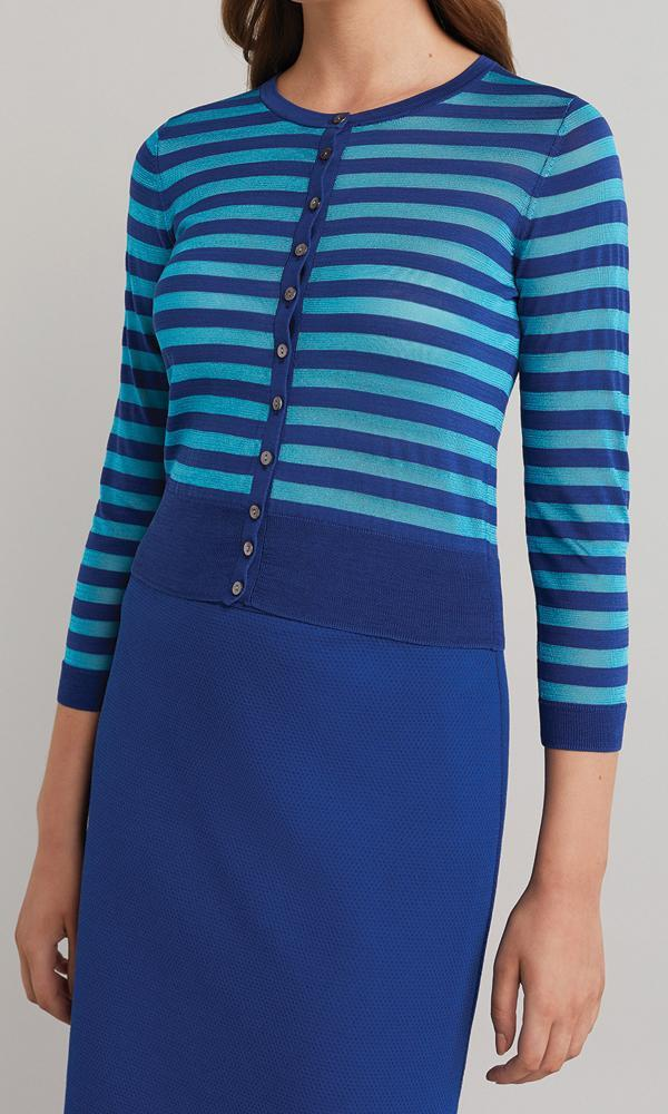 Horizon Cardigan - Blue
