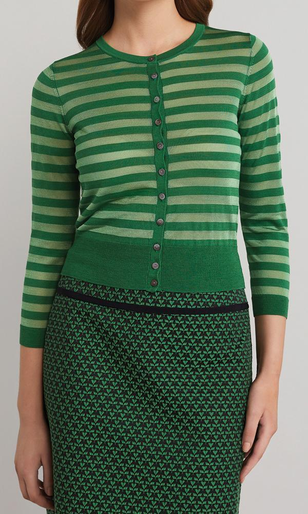 Horizon Cardigan - Emerald