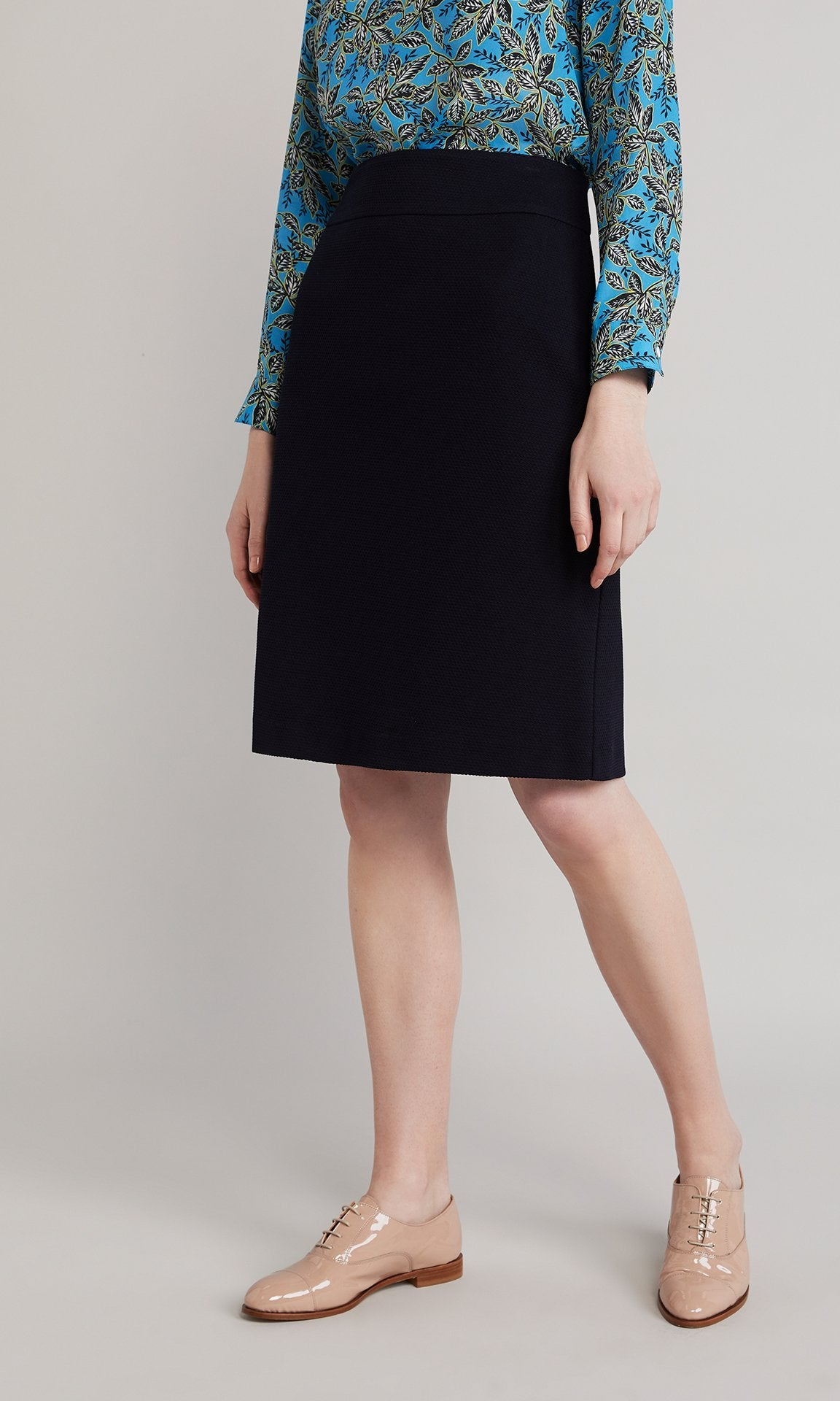 Ingrid Skirt  - Navy