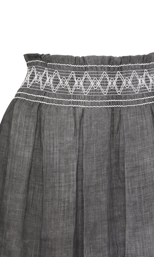 Jolene Skirt  - Grey