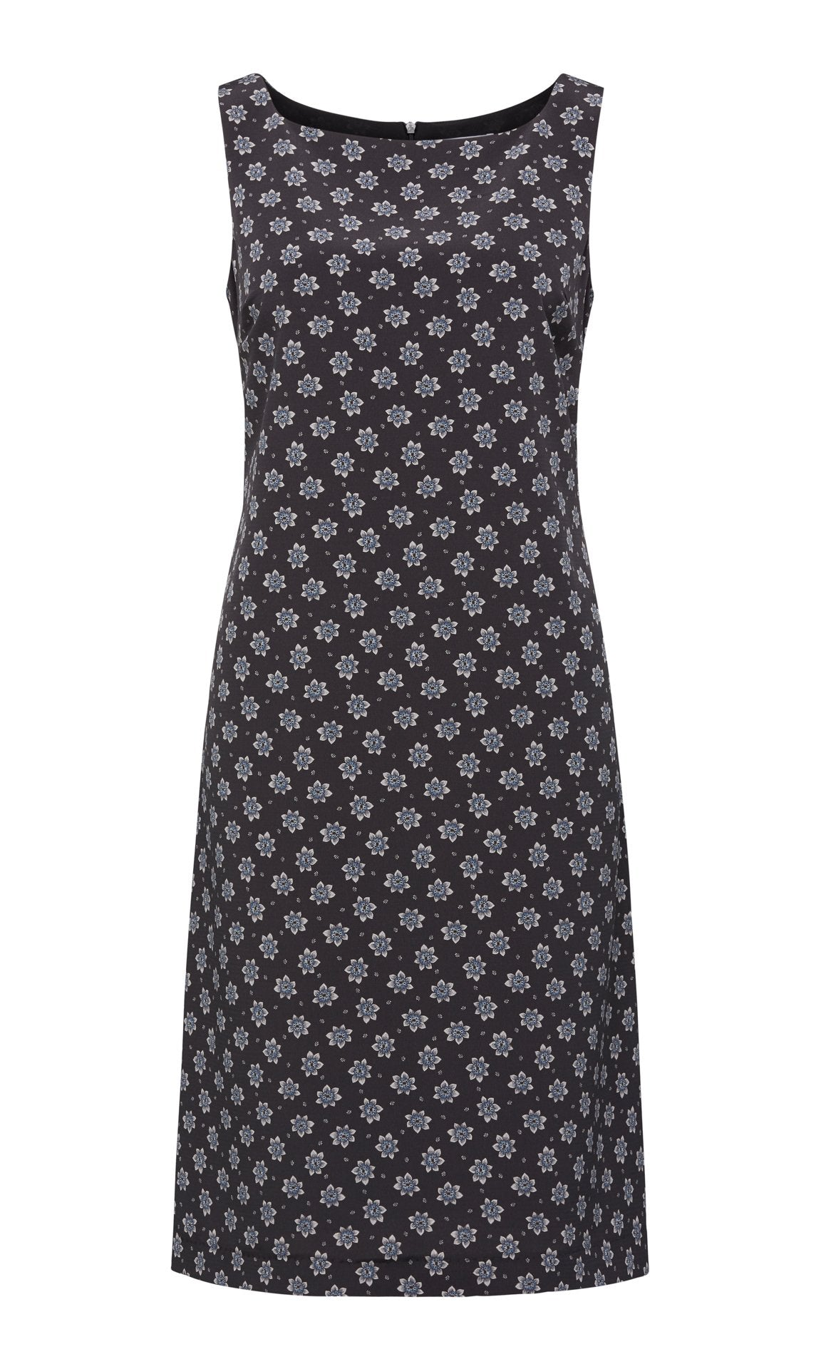 Lucy Shift Dress - Black