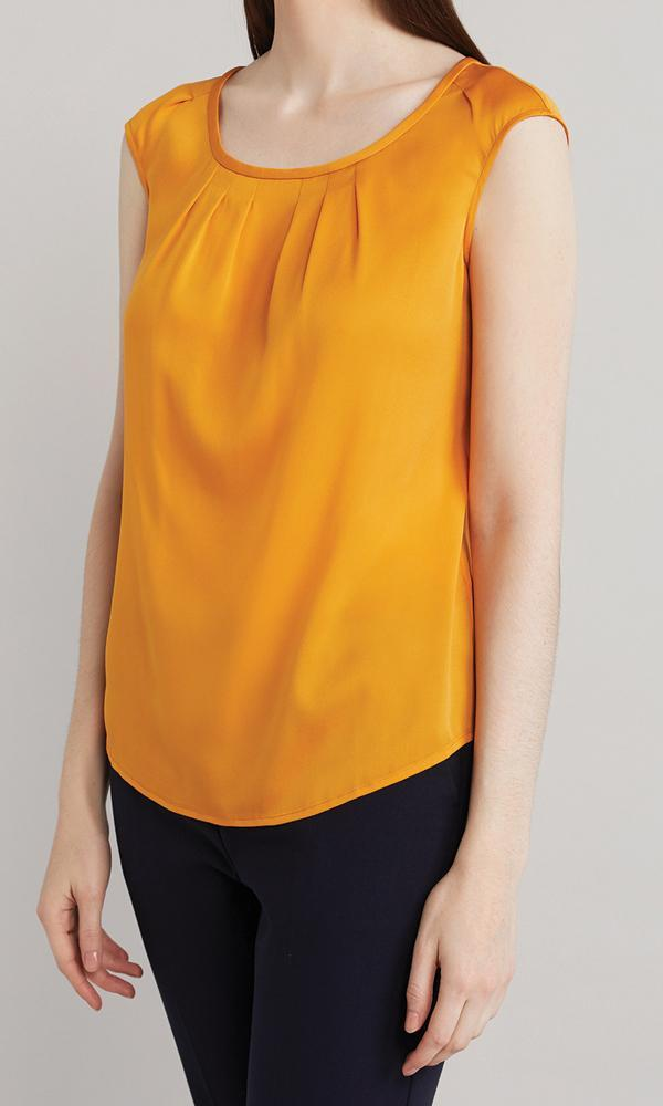 Mary Blouse - Marigold