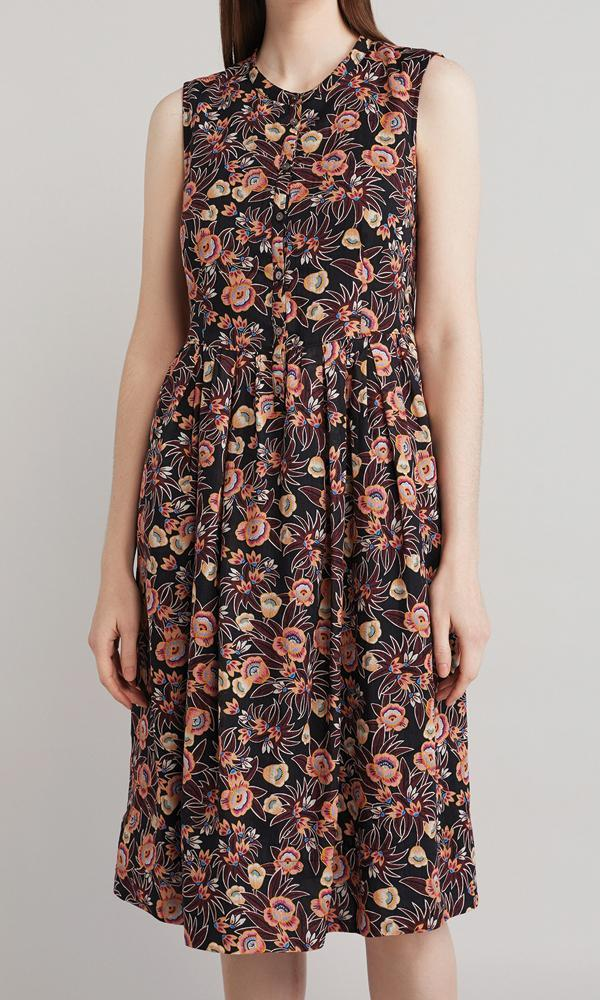 Bloom Dress - Maroon