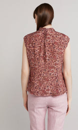 Betsey Blouse - Dusty Rose