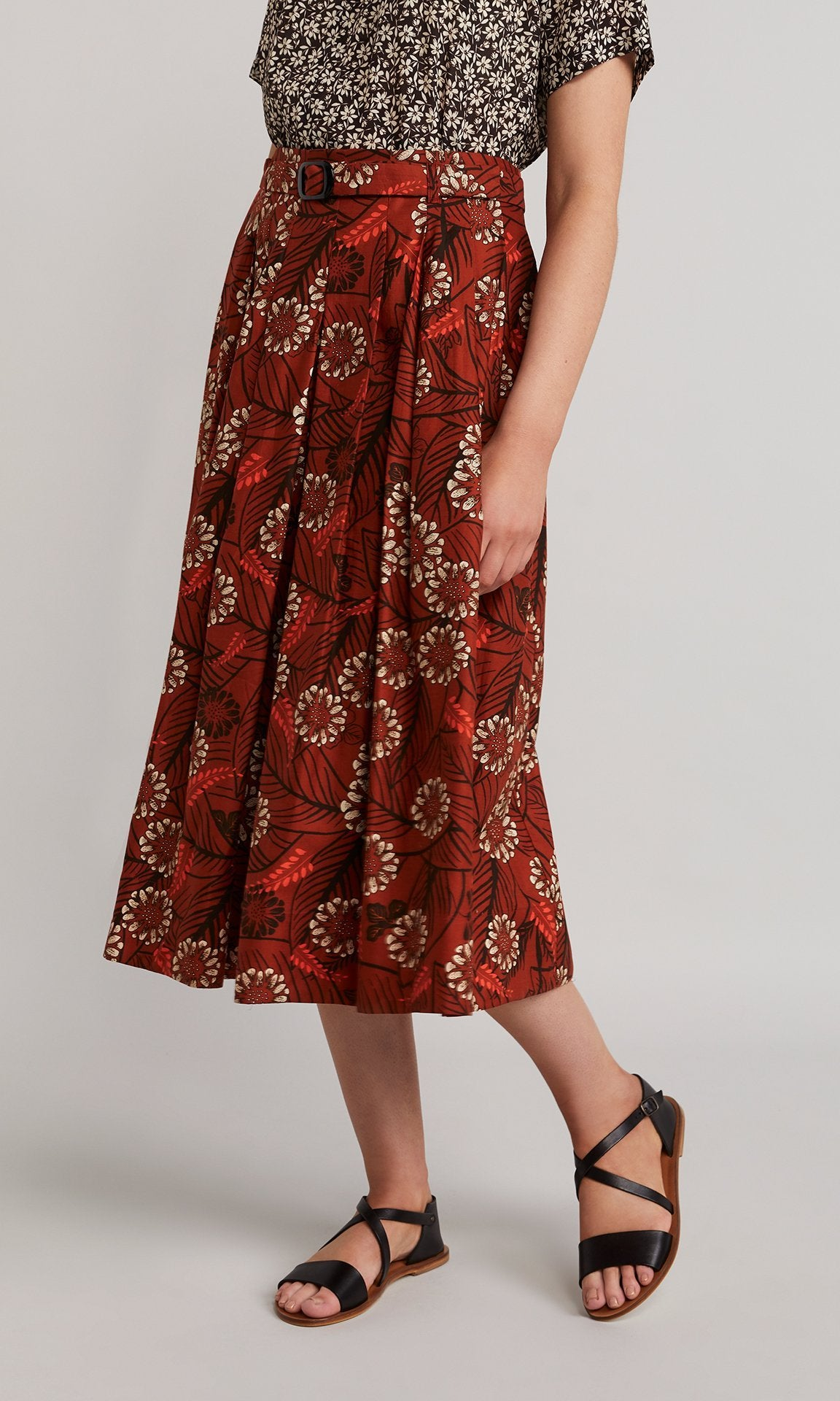 Marie Skirt - Burnt Orange