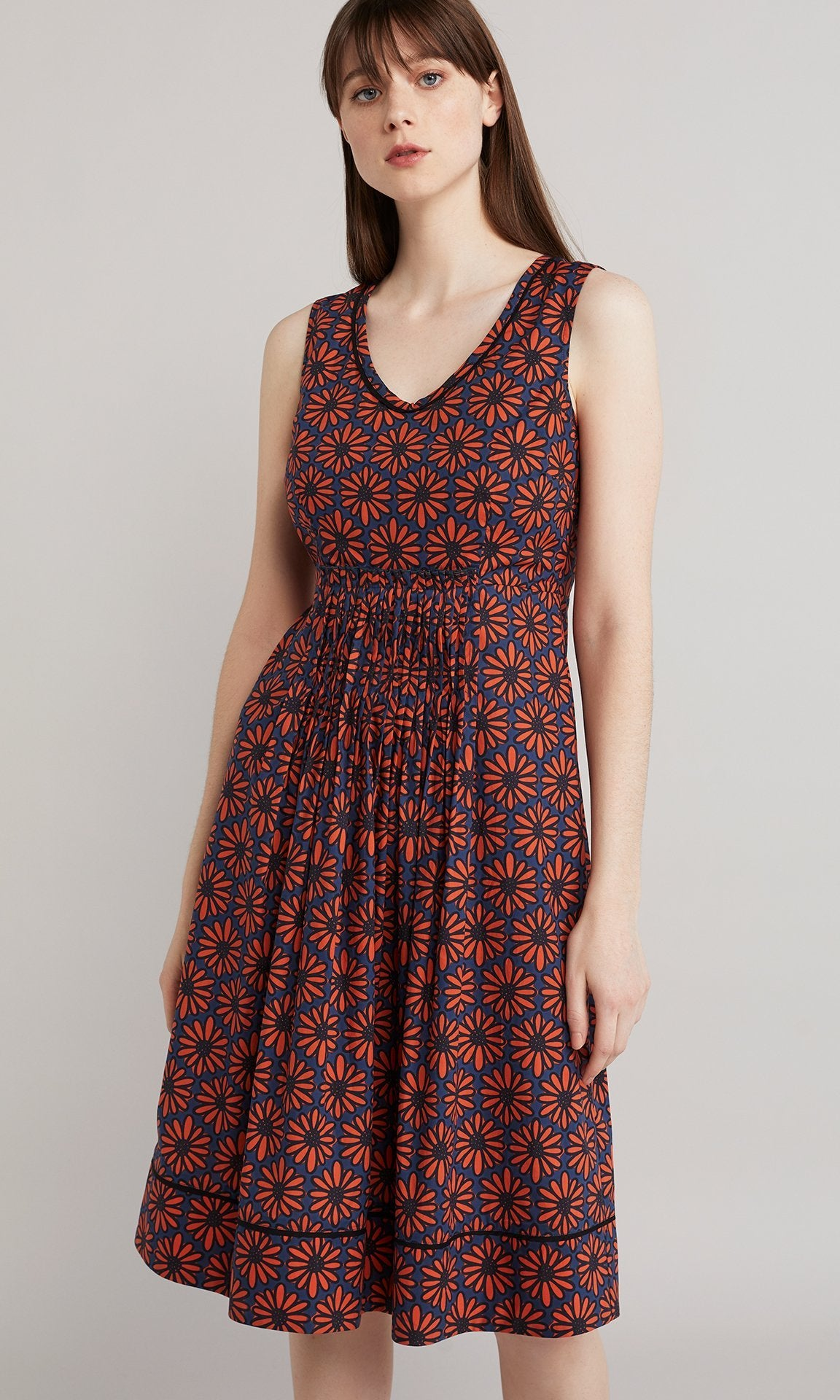 Gloria Dress - Orange