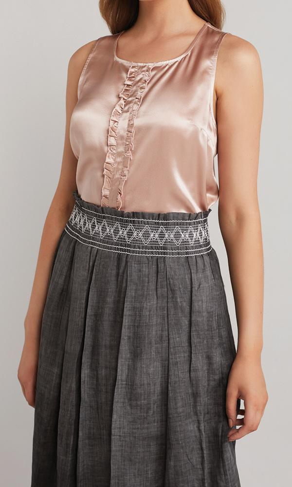 Pier Blouse  - Dusty Rose