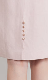 Calvert Dress - Pale Pink