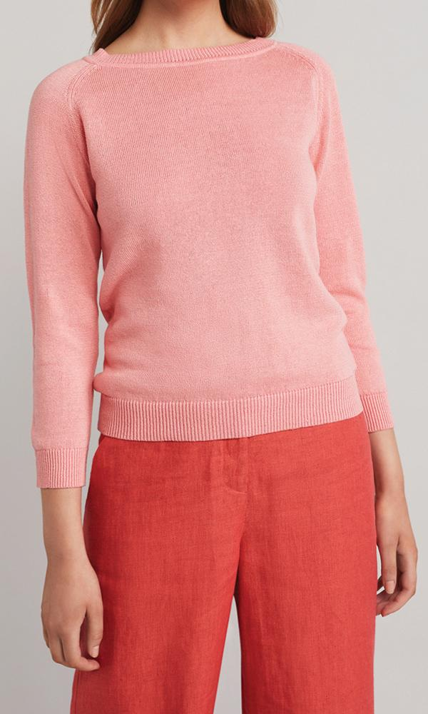 Florence Pullover - Coral