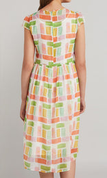 Bardot Dress - Lime