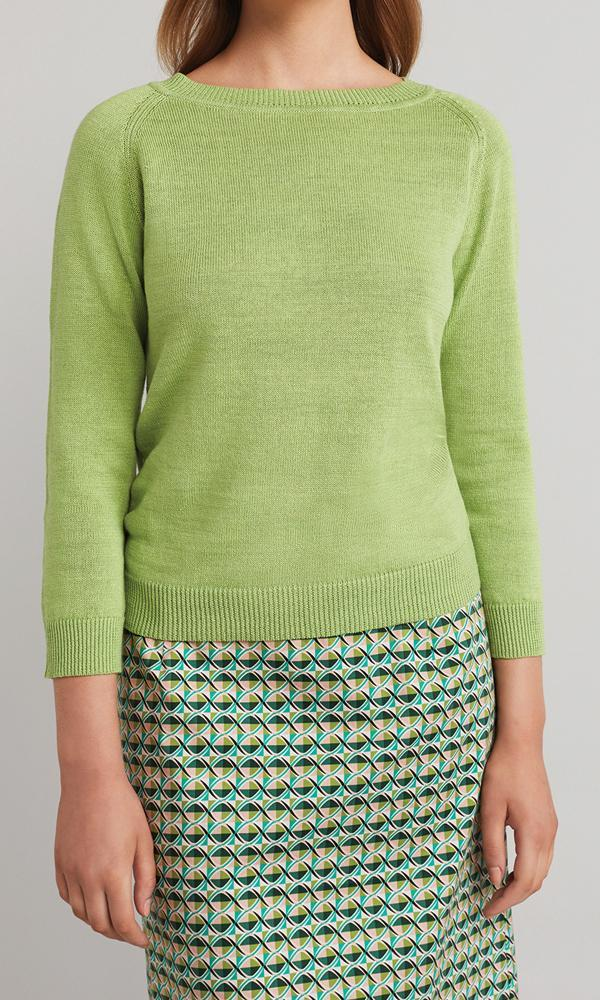 Florence Pullover - Lime
