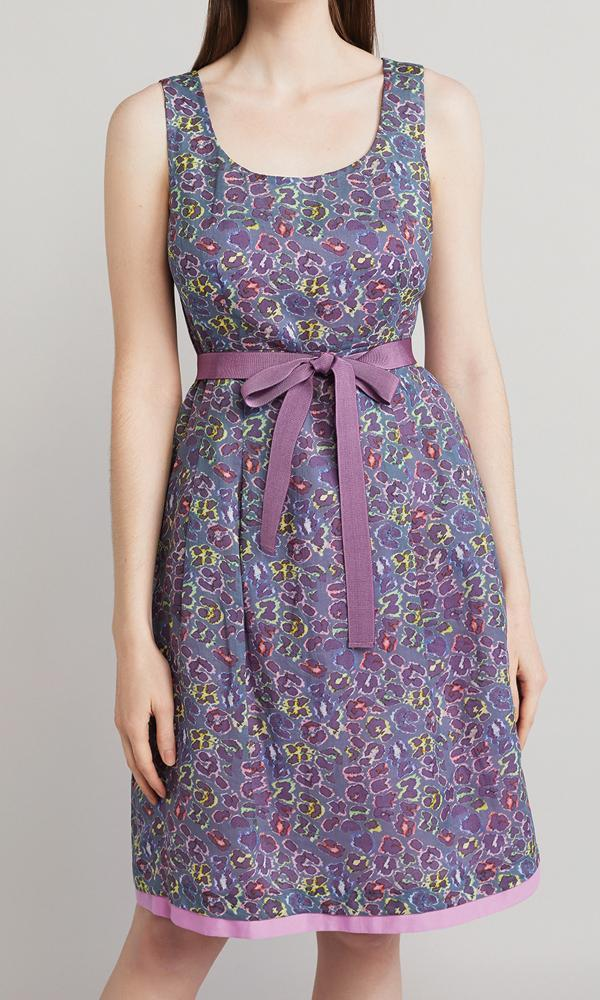 Seberg Dress - Purple