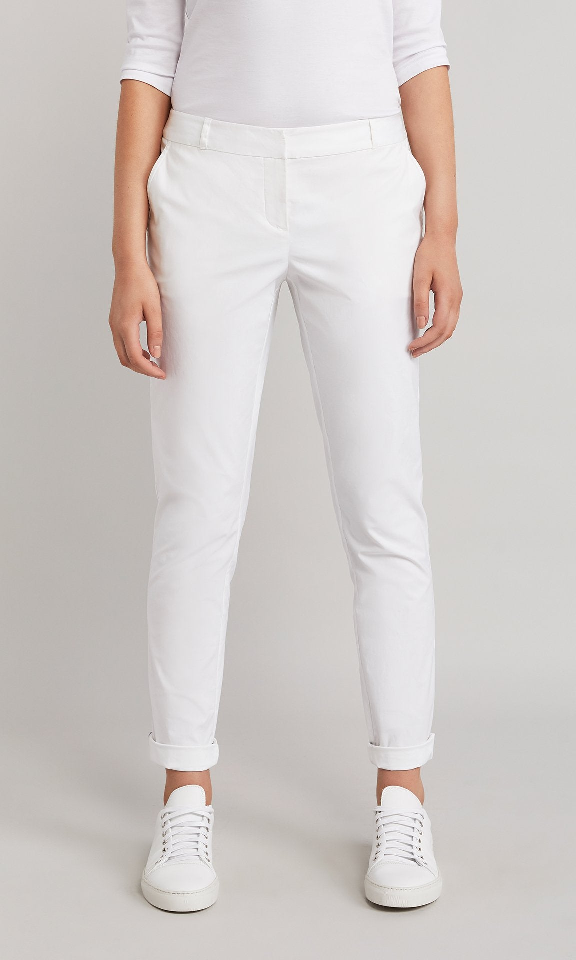 Baxter Trouser - White