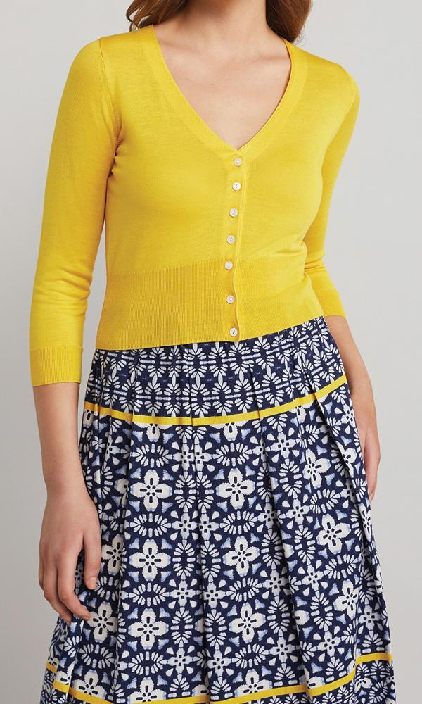 Senna Cardigan - Yellow