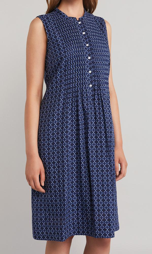 Jewel Dress - Indigo