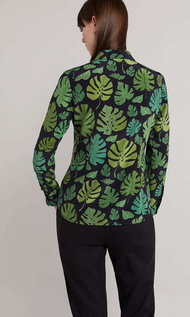 Palm Shirt  - Leaf Green