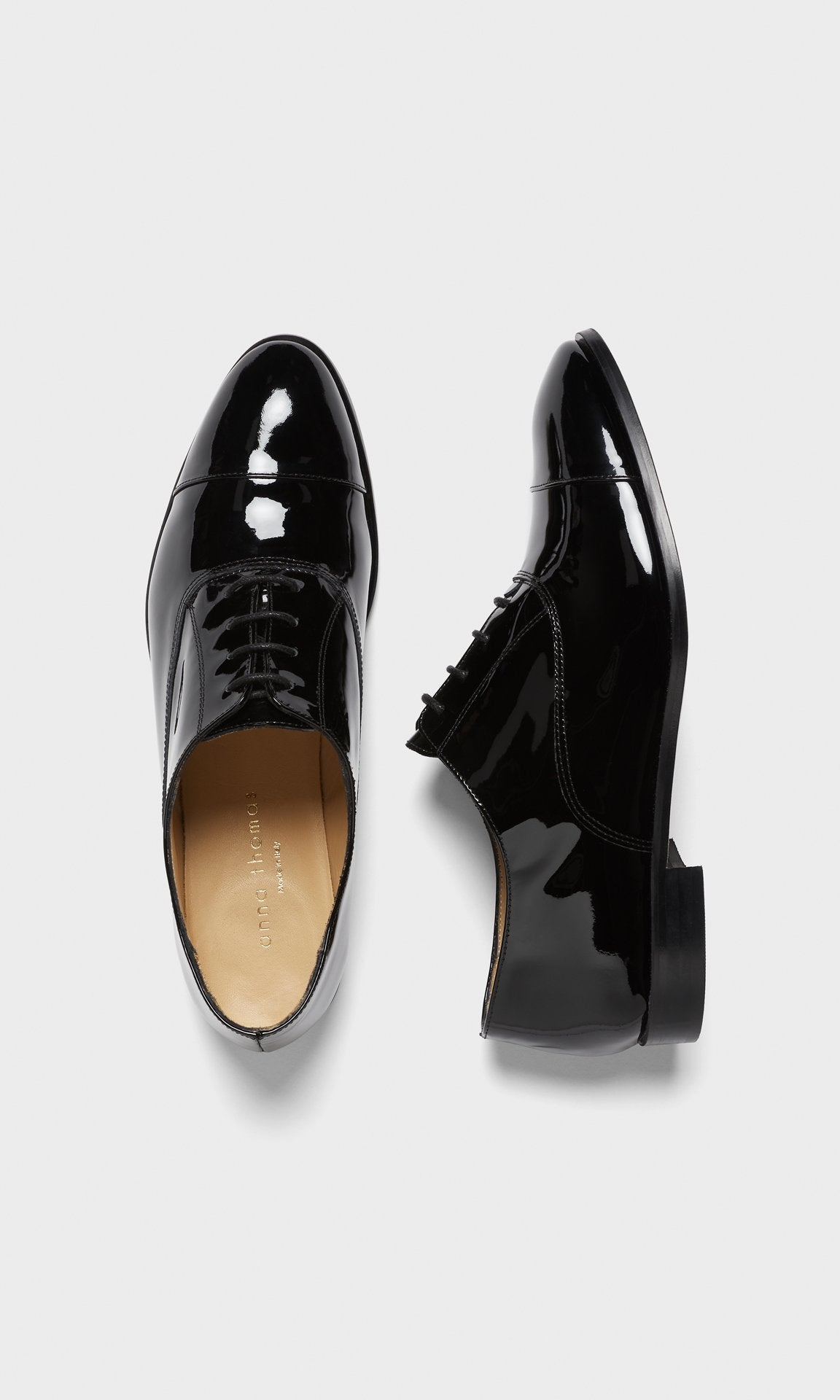 Miller Patent Derby - Black