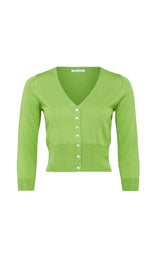 Senna Cardigan - Lime