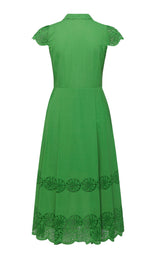 Shelly Dress - Lime