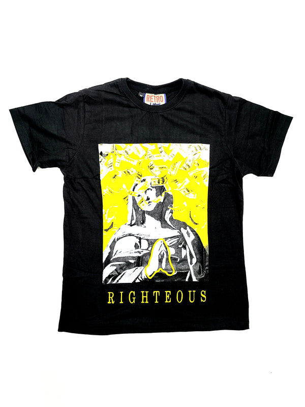 Retro Label 12's Righteous  SS T shirt