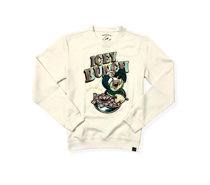 ICEY BUNCH CREW NECK (CV2071)