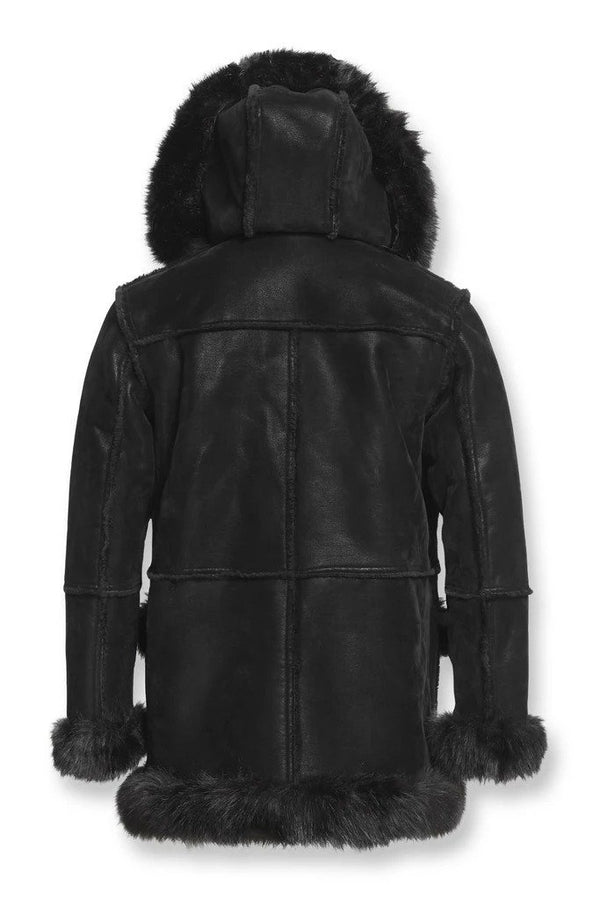 Jordon Craig Mans Aspen Shearling Jacket Black