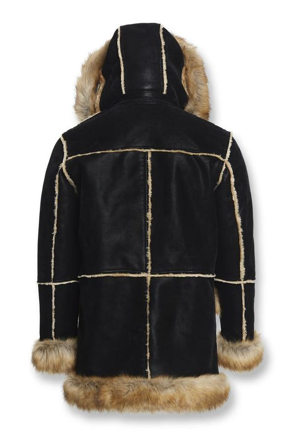 Jordon Craig Mans Aspen Shearling Jacket- Black Copper