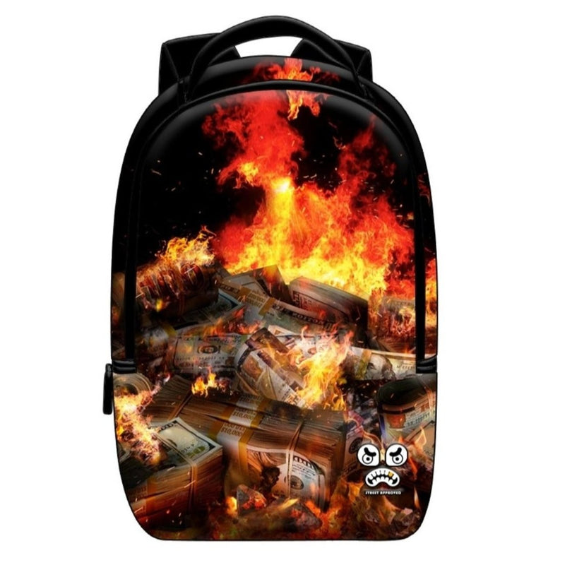 Dollars On Fire BackPack