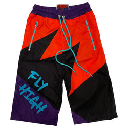 RETRO LABEL FLY HIGH SHORTS
