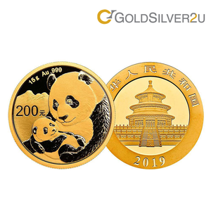 "[ONLINE EXCLUSIVE PRE ORDER] Tomei x China Gold Coin Yellow Gold 999 (24K) ""2019 Panda"" Coin 15 Grams (PGC-15G-19)"
