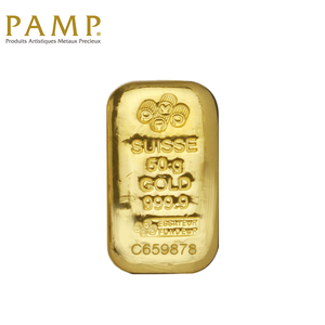 [ONLINE EXCLUSIVE PRE ORDER] Tomei x PAMP Suisse Yellow Gold 9999 (24K) Cast Bar (PSS-R)