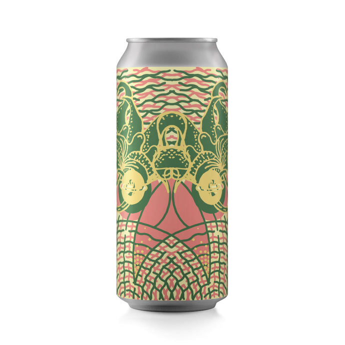 Passionfruit Kalamansi Jasmine Honey Double Milkshake IPA 4-pack