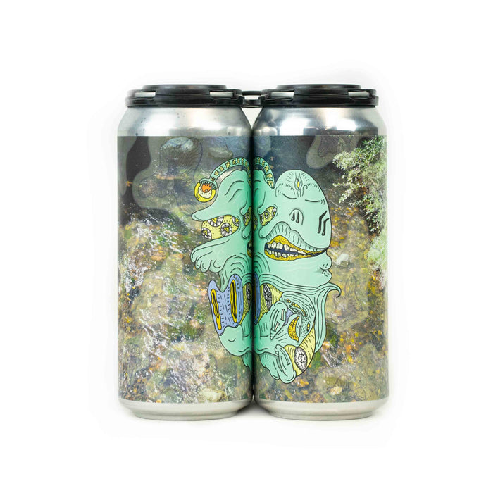 All Eyes Pointing Left and Down is a Triple IPA 4-pack