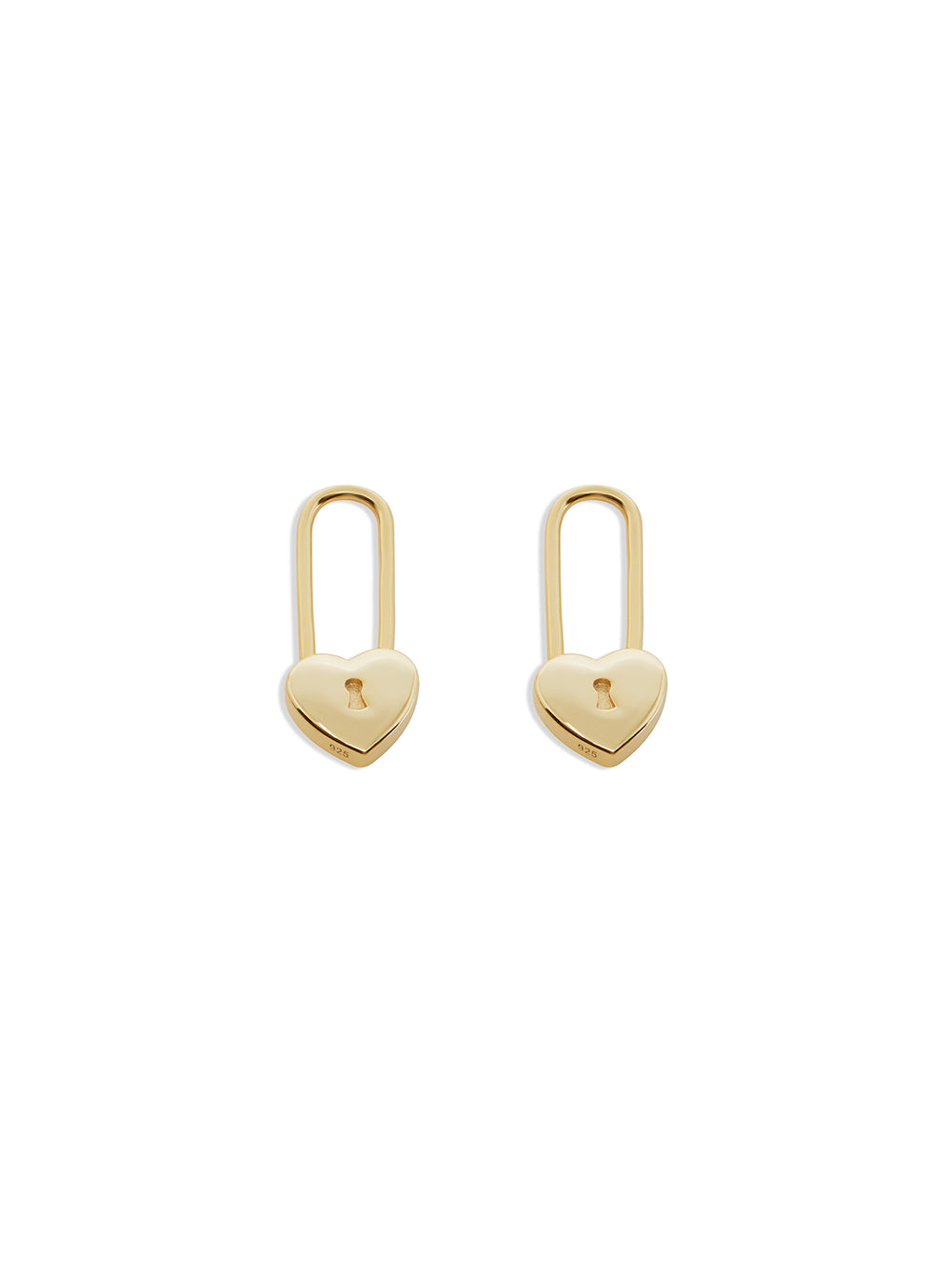 THE HEART LOCK EARRINGS