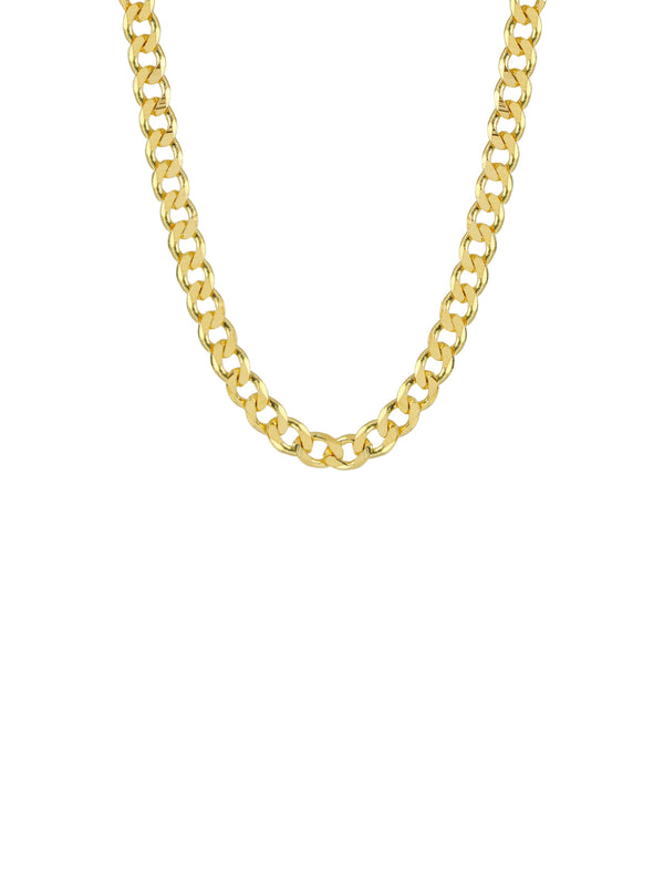 THE CURB LINK COLLAR NECKLACE