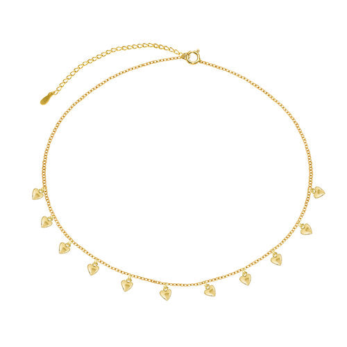 THE CAPRI HEART CHOKER NECKLACE