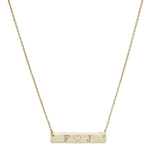 THE CRUSH BAR NECKLACE