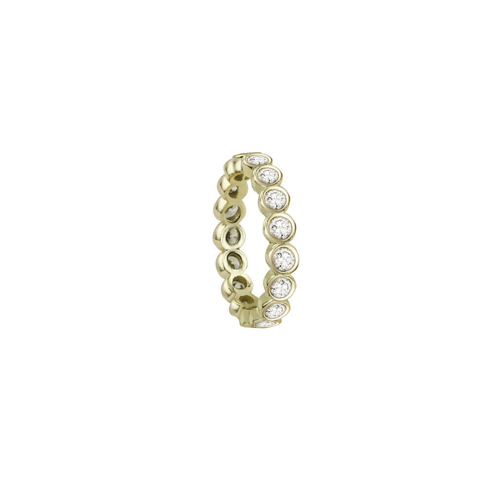 THE BEZEL CUT ETERNITY BAND