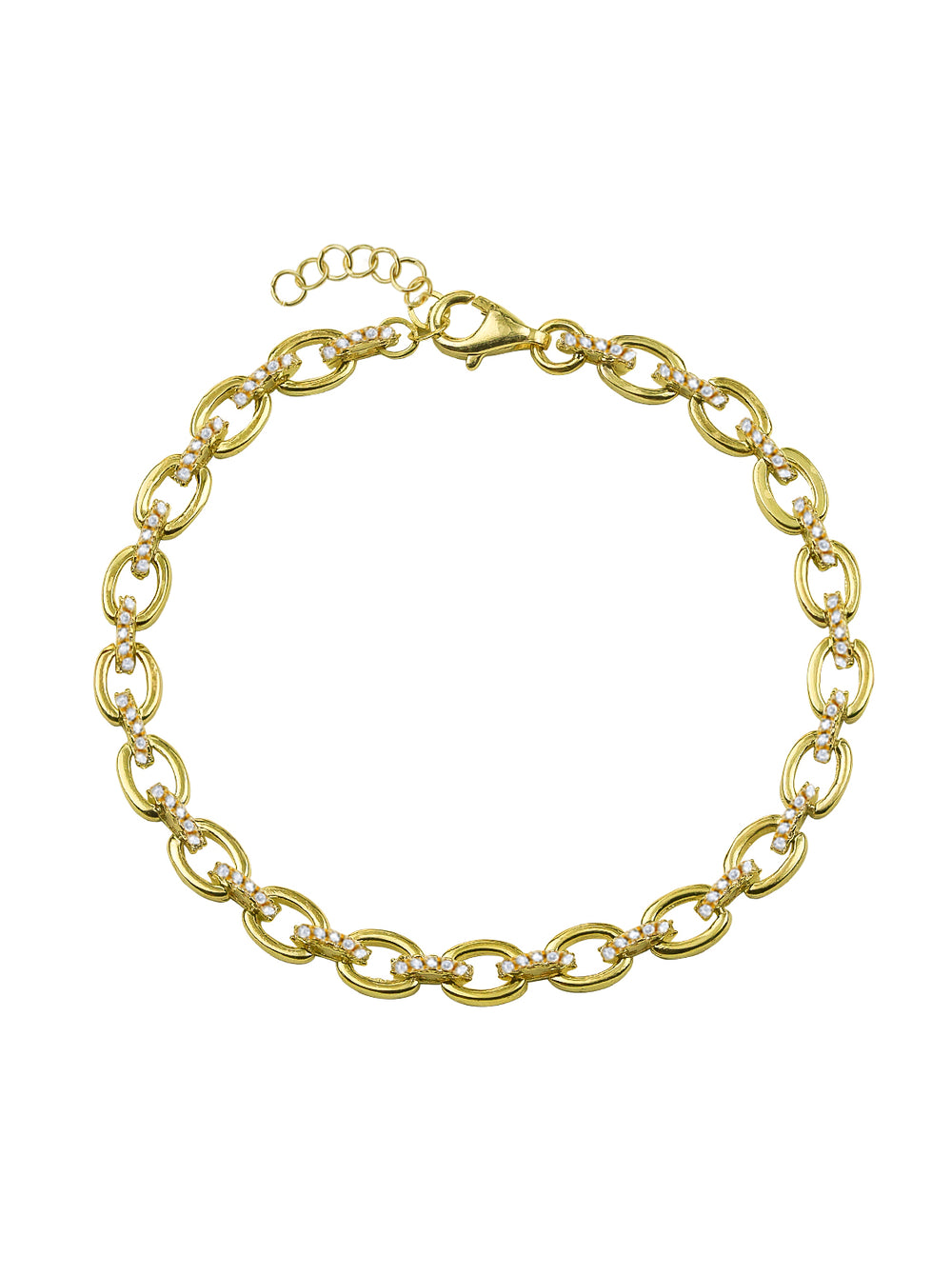 THE PAVE' ROLLO BRACELET