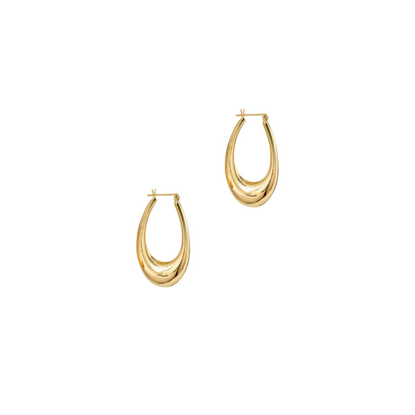 THE EVE DROP HOOPS