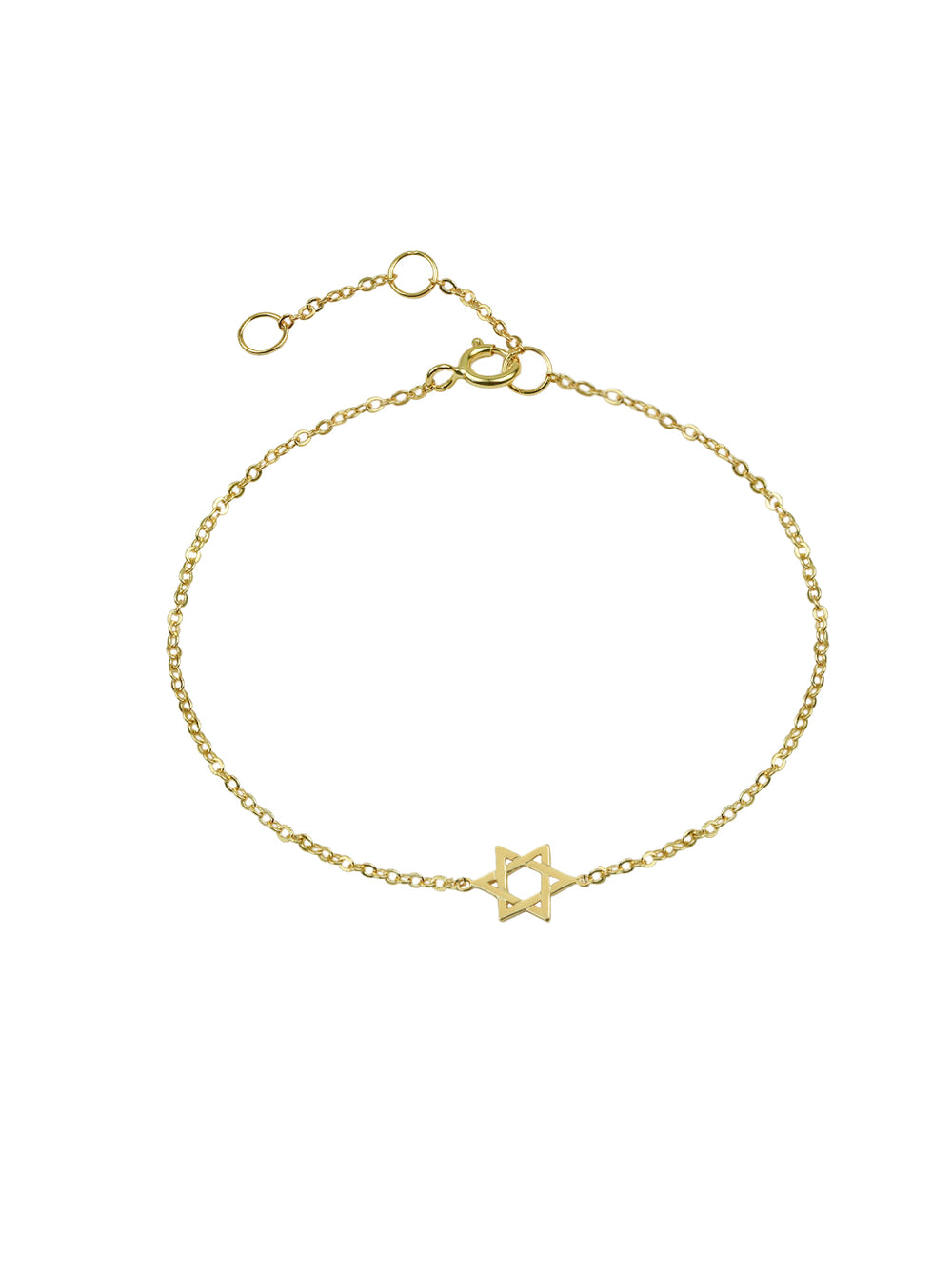 THE STAR OF DAVID LINK BRACELET (CHAPTER II BY GREG YÜNA X THE M JEWELERS)