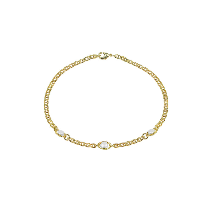 THE PEARL MARINER ANKLET