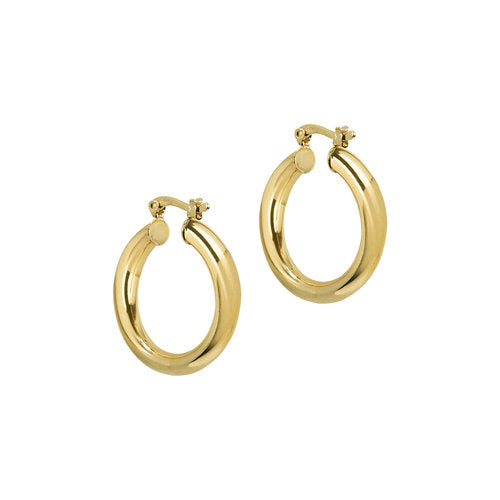 THE MEDIUM RAVELLO HOOPS