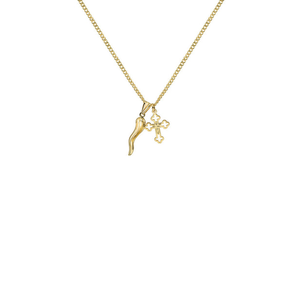 THE CORNICELLO CROSS NECKLACE