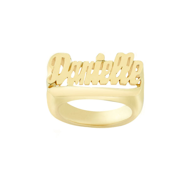 THE CLASSIC NAME RING