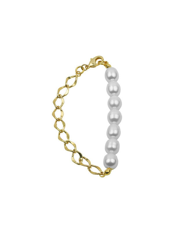 THE CURB PEARL BRACELET