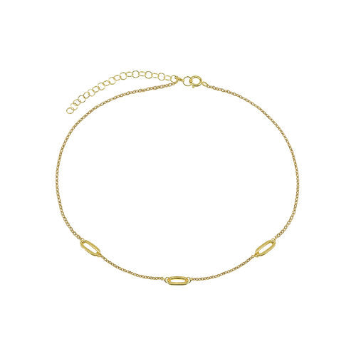 THE OPEN LINK CHOKER NECKLACE
