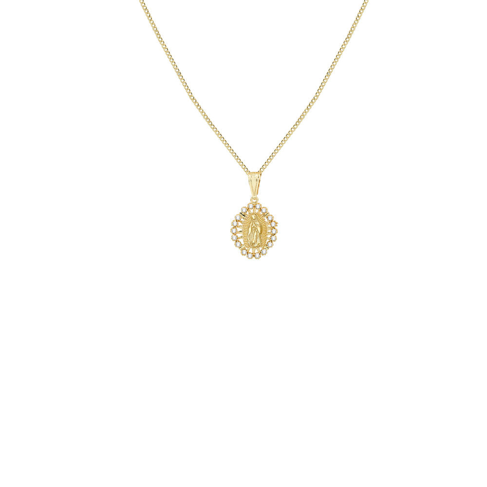 THE GIA GUADALUPE PENDANT NECKLACE