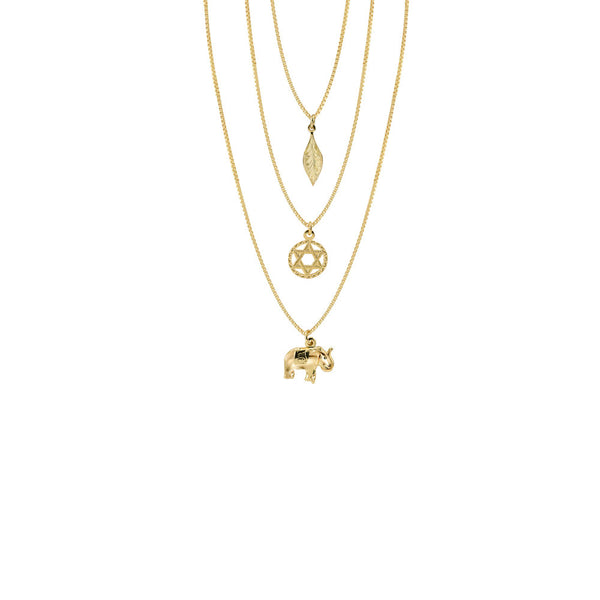 THE FULL STAR OF DAVID LAYER NECKLACE II